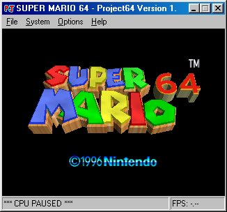 emulator project 64 games