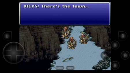 Final Fantasy III on Snes9x EX+ for Android
