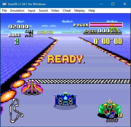 Snex9x - Super Nintendo Emulator for Windows
